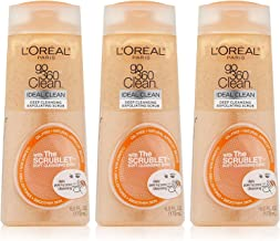 L'Oreal Paris Go 360 Clean, Deep Cleansing Exfoliating Facial Scrub, 6 Ounce (Pack of 3)