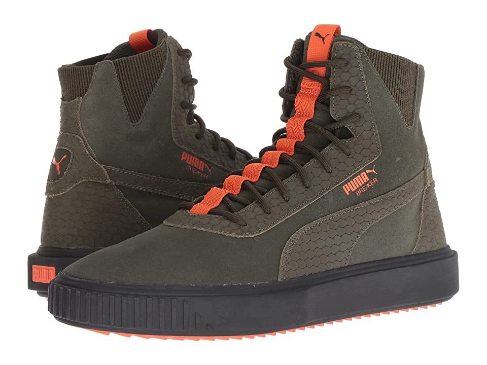 PUMA Breaker Hi FOF (Forest Night/Puma Black/Firecracker) Men