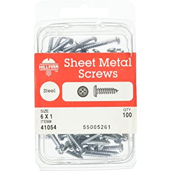 15-Pack The Hillman Group 2960 12 x 3//4-Inch Stainless Steel Pan Head Phillips Sheet Metal Screw