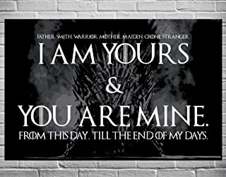 Best game of thrones wedding vows i am yours Reviews