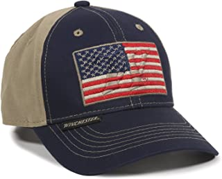 Unisex-Adult American Flag, Navy/Khaki, Adult
