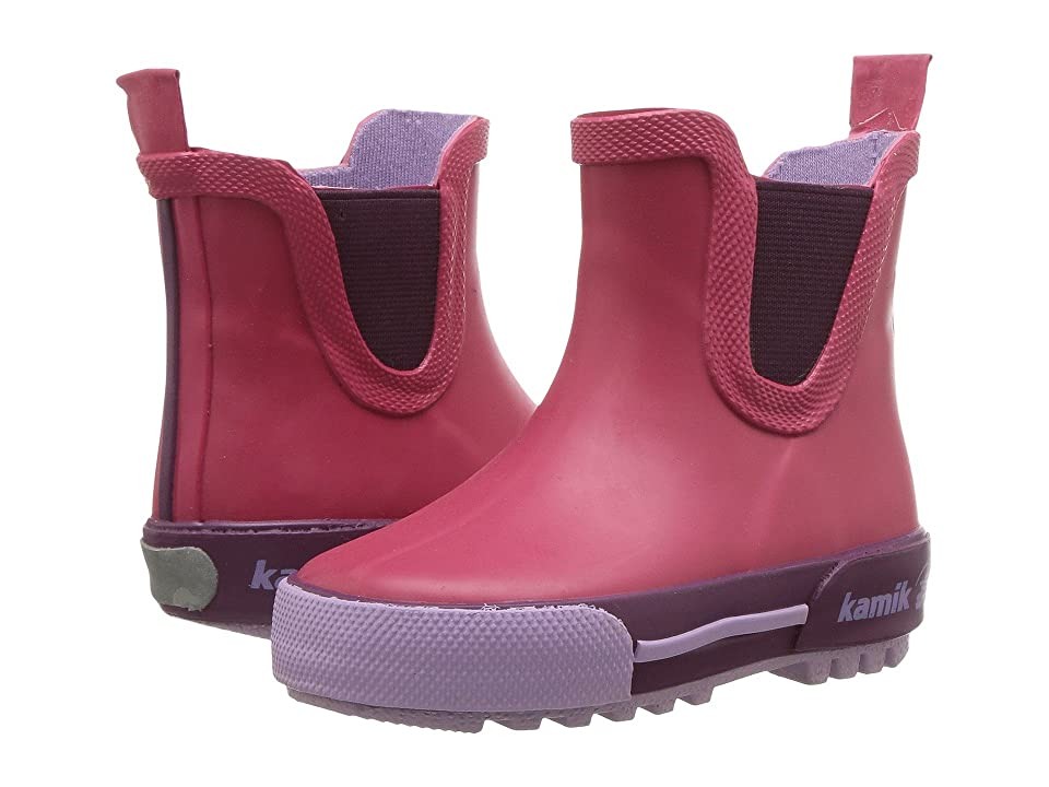 Kamik Kids Rainplaylo (Toddler) (Rose) Girls Shoes