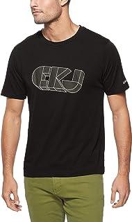 Calvin Klein Jeans Men's 3D Graphic Regular T-Shirt