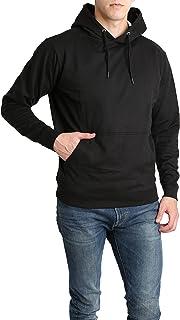 LOUNGEHERO Sudadera con Capucha para Hombre Pullover Hoodie de Algodón Suave Sudadera de Forro Camouflage con Bolsillos Ca...