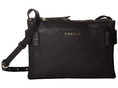 Fiorelli Brie Crossbody (Black) Cross Body Handbags