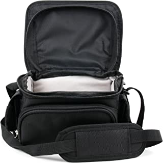 DURAGADGET Water-Resistant Compact Camera Case with Belt Loops and Storage - Suitable for The Panasonic Lumix DMC-TZ55EB-K | Panasonic Lumix DMC-TZ60