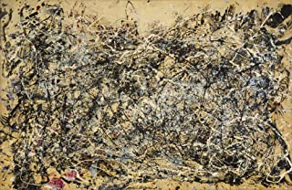 The Museum Outlet - Jackson Pollock - Number 1A, 1948 - A3 Poster Print