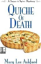 Quiche of Death (A Sugar & Spice Mystery Book 3) (English Edition)