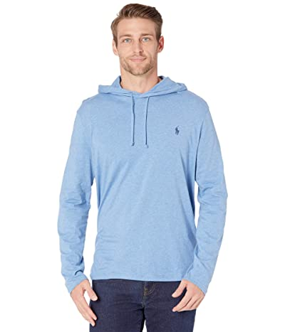 Polo Ralph Lauren Hooded Jersey Tee (Pale Royal Heather) Men