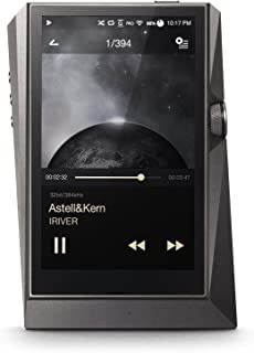 Astell & Kern AK 380 Audiophiler Hires MP3 Player with Wi-Fi and Bluetooth aptX HD Meteoric Titanium