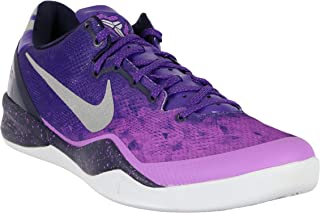 Men's Kobe 8 System Basketball Shoes 13.5 M US Gradient Purple Gray