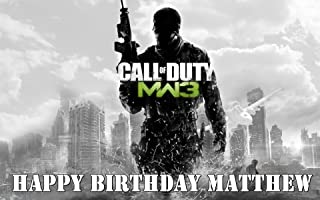 Call of Duty Edible Image Frosting Sheet/cake Topper