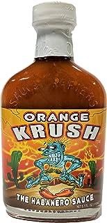 Orange Krush Habanero Hot Sauce, 5oz