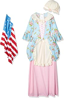 California Costumes Colonial Lady/Betsy Ross/Martha Washington/Ch Costume, X-Large