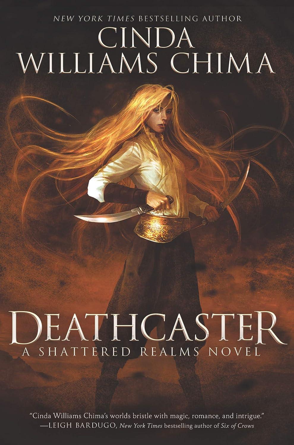 信じる悪のラインDeathcaster (Shattered Realms Book 4) (English Edition)