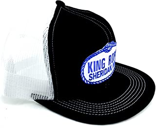 King Ropes Base Ball Caps New Colors, Different Styles (Black/White)