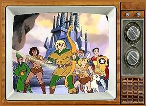 Dungeons & Dragons TV Fridge MAGNET 2