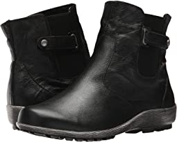 Black Grainy Leather