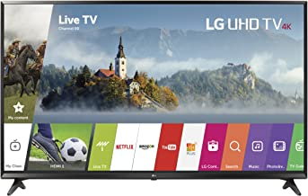 LG Electronics 49UJ6300 49-Inch 4K Ultra HD Smart LED TV (2017 Model) (Renewed)