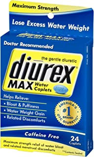 Diurex Max Water Caplets - 24 CT