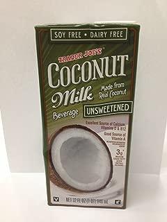 Best trader joe's unsweetened coconut milk Reviews