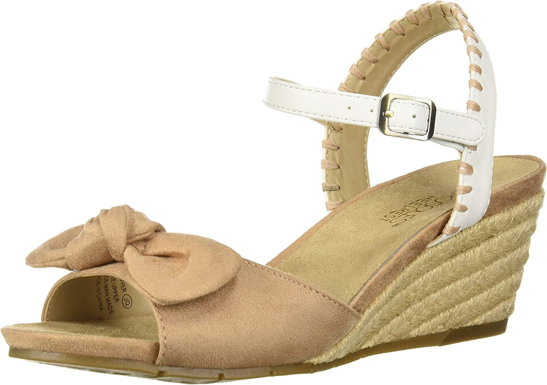 Aerosoles Womens Cake Over Wedge Sandal