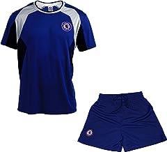 Ensemble Maillot Short Chelsea FC Collection Officielle Taille Enfant Gar/çon
