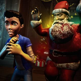 Creepy Five Nights Santa Claus Horror Escape: Crazy Neighbor House Spooky Game 2019