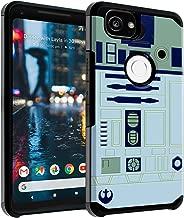 Google Pixel 2 Case, DURARMOR Star Wars R2D2 Astromech Droid Robot Dual Layer Hybrid Case ShockProof Slim Fit Armor Drop Protection Cover for Google Pixel 2 (2017), R2D2