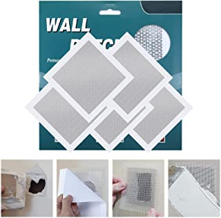 Jeteven Drywall Repair Kit, Wall Patch Siding PVC Self-Adhesive Vinyl Siding Repair Patches Vinyl Siding Repair Stickers f...