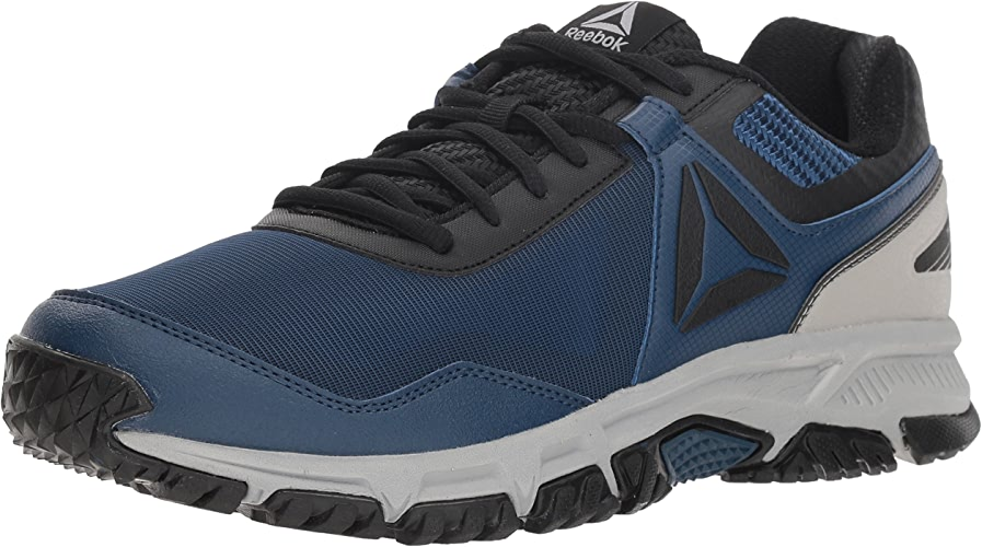 Reebok Men's Ridgerider Trail 3.0 Walking chaussures, Bunker bleu noir tin gre, 10 M US