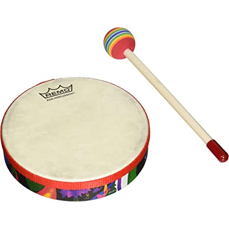 NINO931R inch for Classroom Music or Playing at Home Nino Percussion Kids Bongo Cajon with High and Low Pitch Surfaces-NOT Made in China-Baltic Birch 2-Year Warranty