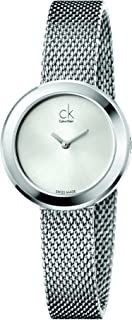 Calvin Klein 卡尔文克莱恩 美国品牌 瑞士制造 石英女士手表 K3N23126