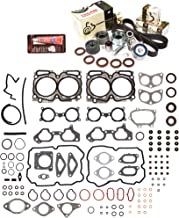 Evergreen HSTBK9013 Head Gasket Set Timing Belt Kit Fits 04-06 Subaru 2.5 Turbo DOHC EJ255 EJ257