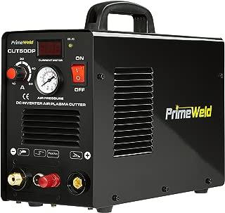 PRIMEWELD 50A CUT50DP NonTouch Pilot Arc Air Inverter Plasma Cutter Dual Voltage 110/220VAC 1/2