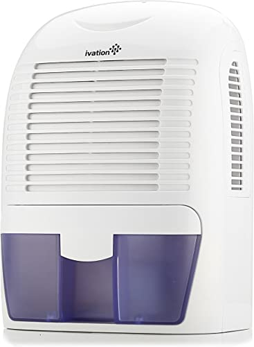 discount Ivation GDM30 Powerful Mid-Size Thermo-Electric Dehumidifier - online Quietly Gathers Up to 20oz. new arrival of Water per Day - for Spaces Up to 2,200 Cubic Feet sale