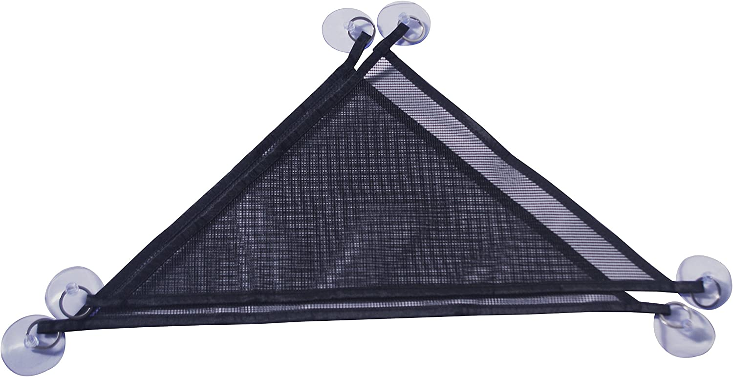 Breathable Mesh Reptile Lizard Hammock, 19inch 2 Packs (Black)Brand BOBO