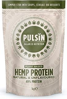 Pulsin Hemp protein powder 1000g