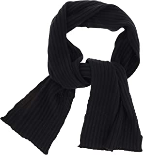 40 Colori Men's 100% Cashmere Winter Scarf, Made in Italy, (1Pc)