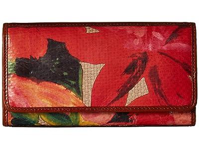 Patricia Nash Straw Terresa Wallet (Spring Multi) Wallet Handbags