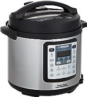 Arshia Digital Pressure Cooker, 6L, EP118-2372, Black