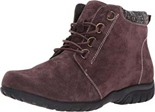 Propet Women's Delaney Ankle Boot Bootie, Brown, 8.5 XX-Wide