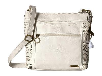 Sakroots Arcadia Finn Crossbody (Stone Tribal Beauti) Cross Body Handbags