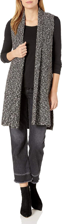 kensie Women's Cotton Tweed Vest