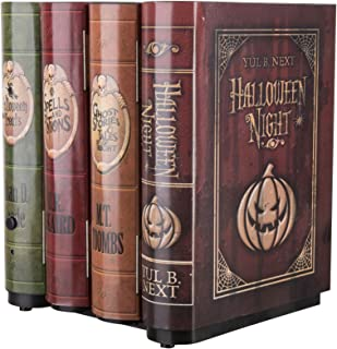 Halloween Animated Moving Books Decoration, 8 1/8 Inch