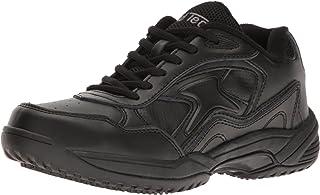 حذاء عمل ADTEC للنساء من الدانتيل الأبيض - مقاوم للانزلاق، مسامي، مريح + بسعر معقول