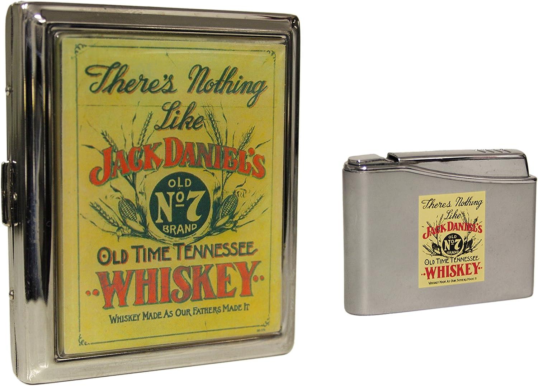 Jack Daniels Lighter Cigarette Case