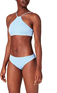 O'NEILL Cali Rita Set Bikini, Blue all Over Print with White, 38 Donna