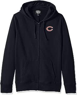 OTS NFL Womens Fleece Full-Zip Hoodie