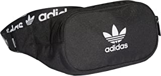 Adidas Branded Webbing Waistbag Gürteltasche (one Size, Black/White)